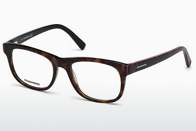brille Dsquared DQ5217 052 - Brun, Havanna