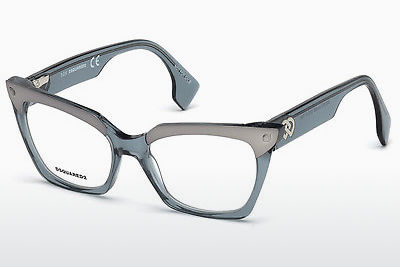 brille Dsquared DQ5223 084 - Blå, Azure, Shiny