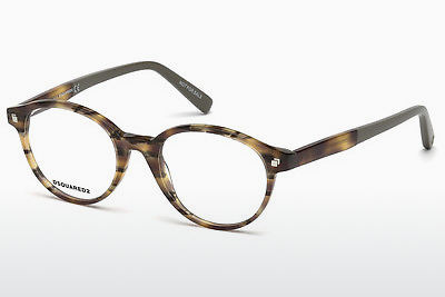 brille Dsquared DQ5227 053 - Havanna, Yellow, Blond, Brown