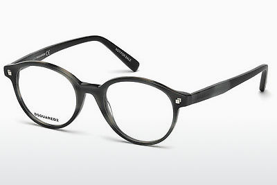 brille Dsquared DQ5227 056 - Brun, Havanna