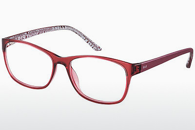 brille Elle EL13398 RE - Rød