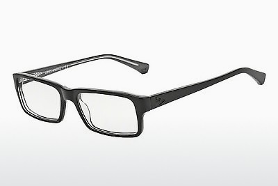 brille Emporio Armani EA3003 5055 - Sort, Grå, Transparent