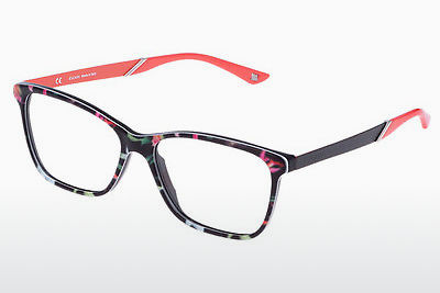brille Escada VES353 0AP3 - Flowers, Blå, Sort