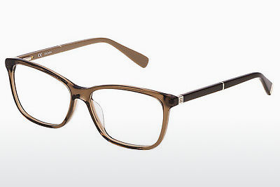 brille Escada VES424 0B36 - Brun, Transparent