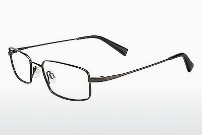 brille Flexon 429 001 - Sort, Chrome
