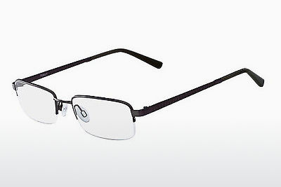 brille Flexon CLAY 600 033 - Rødt metall