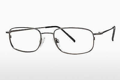 brille Flexon FLX 810MAG-SET 033 - Rødt metall