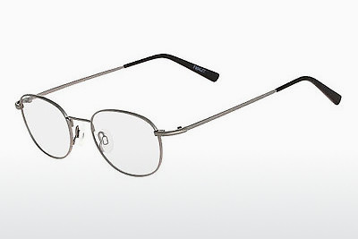 brille Flexon FORD 600 033 - Grå, Rødt metall
