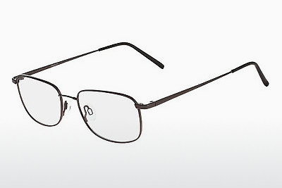 brille Flexon FOSTER 600 001 - Sort, Chrome