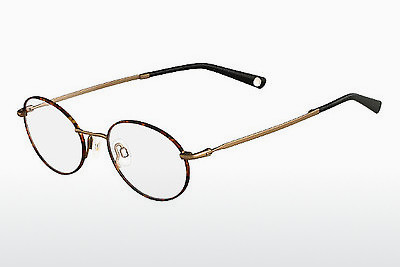 brille Flexon INFLUENCE 214 - Brun, Havanna