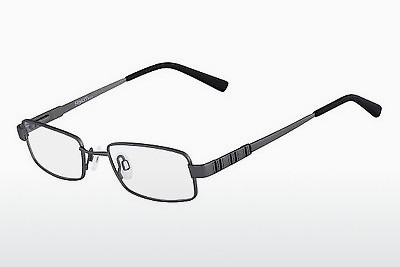 brille Flexon KIDS SATURN 033 - Rødt metall