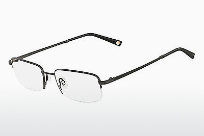 brille Flexon MOVEMENT 001 - Sort, Chrome