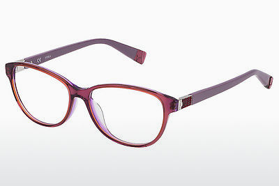 brille Furla VFU030 0U61 - Rød, Purpur, Transparent