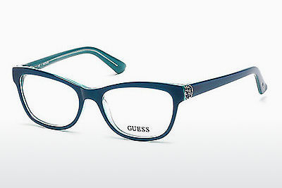 brille Guess GU2527 087 - Blå, Turquoise, Shiny