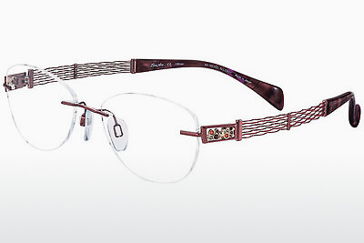 brille LineArt XL2067 RE - Rød