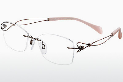 brille LineArt XL2077 BR - Brun