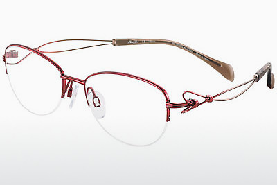 brille LineArt XL2078 RE - Rød