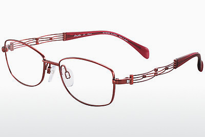 brille LineArt XL2080 RE - Rød