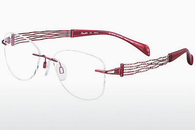 brille LineArt XL2081 RE - Rød