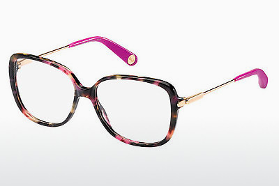 brille Marc Jacobs MJ 494 CDC - Havanna, Gull, Rosa, Transparent