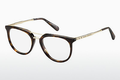 brille Marc Jacobs MJ 603 AQT - Gull, Brun, Havanna