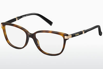 brille Max Mara MM 1253 BHZ - Gull, Brun, Havanna