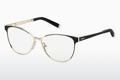 brille Max Mara MM 1255 MGN - Gull, Sort