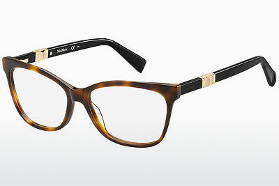 brille Max Mara MM 1290 BHZ - Gull, Brun, Havanna
