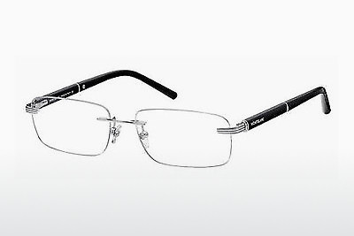 brille Mont Blanc MB0337 016 - Sølv, Shiny, Grey