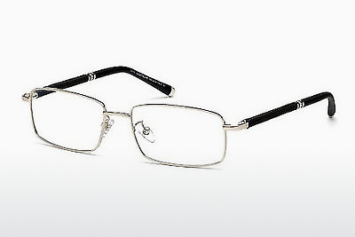 brille Mont Blanc MB0396 016 - Sølv, Shiny, Grey