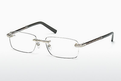 brille Mont Blanc MB0432 016 - Sølv, Shiny, Grey