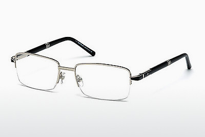 brille Mont Blanc MB0488 016 - Sølv, Shiny, Grey