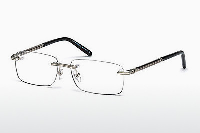 brille Mont Blanc MB0492 016 - Sølv, Shiny, Grey