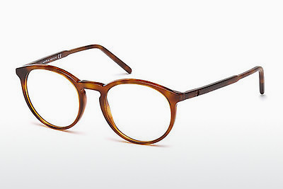 brille Mont Blanc MB0554 053 - Havanna, Yellow, Blond, Brown