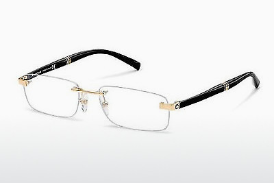 brille Mont Blanc MB9101 E69 - Sort