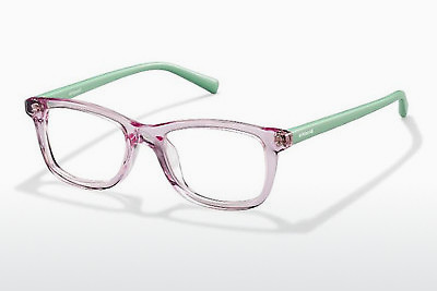 brille Polaroid Kids PLD K 014 IJY - Rosa, Transparent