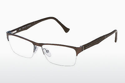 brille Police CLOSE UP 4 (VPL040 0488) - Brun