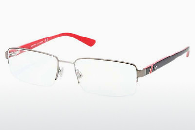 brille Polo PH1143 9050 - Grå, Rødt metall