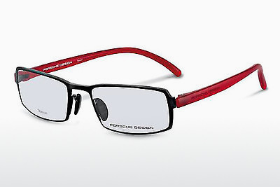 brille Porsche Design P8145 A - Sort, Rød