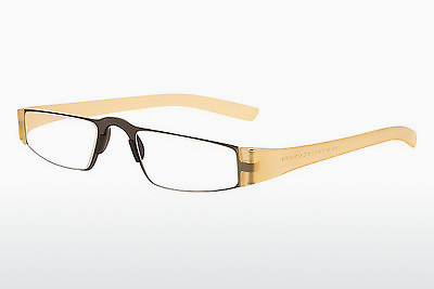 brille Porsche Design P8801 K D2.00 - Gul, Transparent