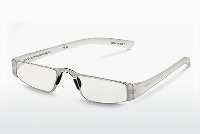 brille Porsche Design P8801 M D1.00 - Hvit, Transparent