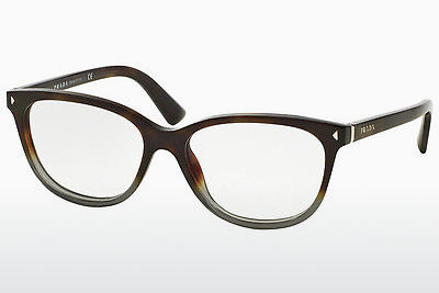 brille Prada JOURNAL (PR 14RV TKT1O1) - Grå, Brun, Havanna
