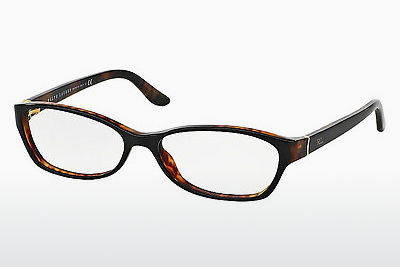 brille Ralph Lauren RL6068 5260 - Sort, Brun, Havanna