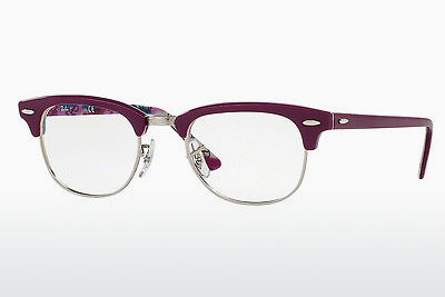 brille Ray-Ban CLUBMASTER (RX5154 5652) - Purpur, Mønstret