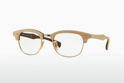 brille Ray-Ban CLUBMASTER (RX5154M 5558) - Brun, Maple
