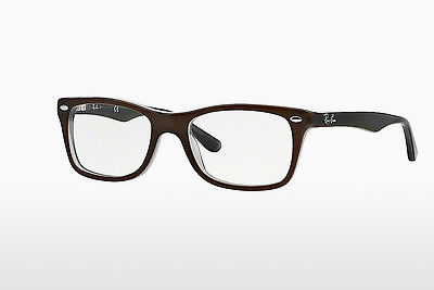 brille Ray-Ban RX5228 5076 - Brun