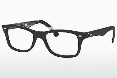 brille Ray-Ban RX5228 5405 - Sort, Mønstret