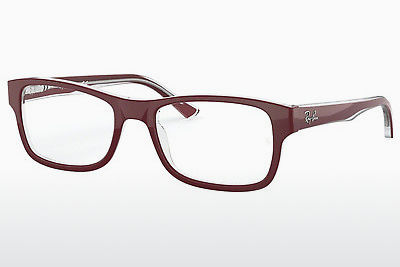 brille Ray-Ban RX5268 5738 - Rød, Transparent