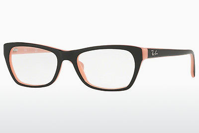 brille Ray-Ban RX5298 5024 - Sort, Rosa