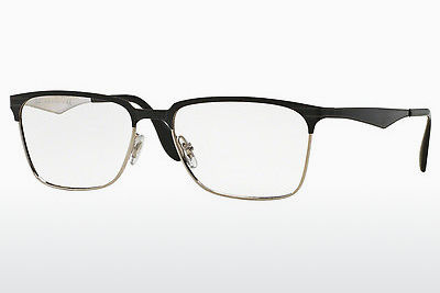 brille Ray-Ban RX6344 2861 - Sort, Sølv